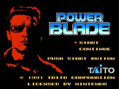 Power Blade (Europe)