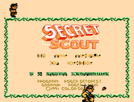 Secret Scout in the Temple of Demise (USA) (Unl) (Beta)